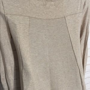Sweaters - Tan knit sweater small